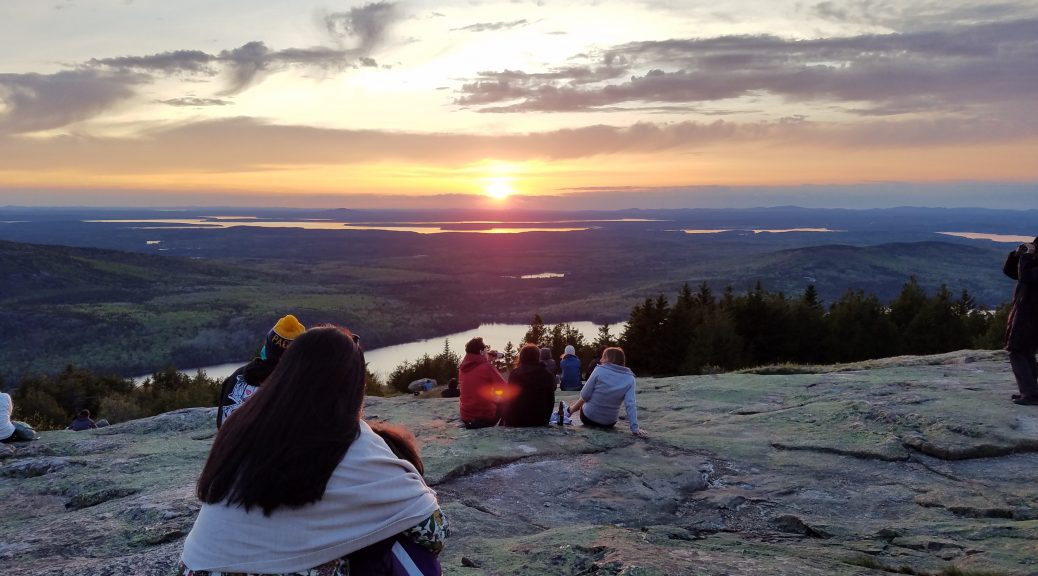 Blue Hill Overlook, Maine